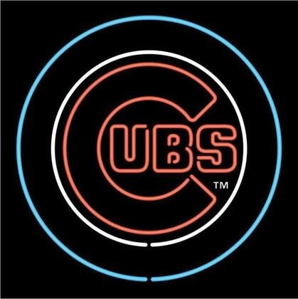 63-2005 Chicago Cubs MLB Themed Neon Sign With Standard 110 Volt Plug & Ten Foot Power