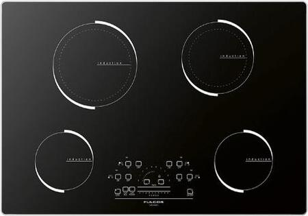 "F6IT30S1 30"" 600 Series Induction Cooktop with 4 Elements Slide Touch Control LED Display Aluminum Frame and Smooth Glass Construction in"