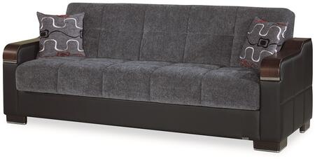 Uptown Collection UPTOWN SOFABED GRAY 26-370 86