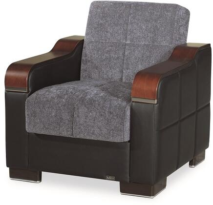 Uptown Collection UPTOWN ARMCHAIR GRAY 26-370 32