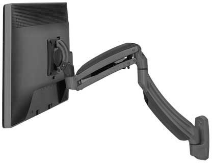 K1W120B Kontour Dynamic Wall Mount for 1 Flat Panel