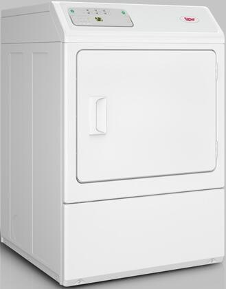 UDGE5BGS113TW01 Light Commercial On-Premise Gas Dryer with 7 cu. ft. Capacity  Electronic Homestyle Control  1/3 HP Motor Size  in