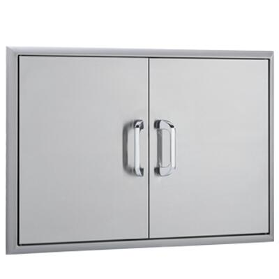 OCI-32ADD 32 inch  Double Access Doors with Paper Towel Holder  Magnetic Latch and Heavy Duty Hinges: Stainless