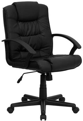 Click here for GO-937M-BK-LEA-GG Mid-Back Black Leather Office prices