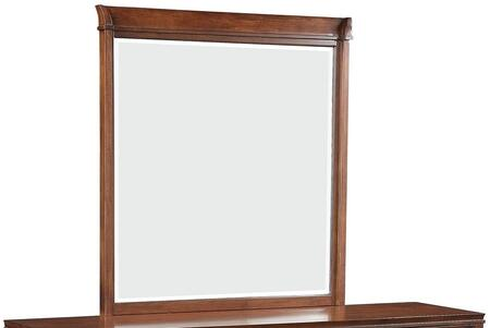 Midway Collection 20984 39 inch  x 41 inch  Mirror in Cherry