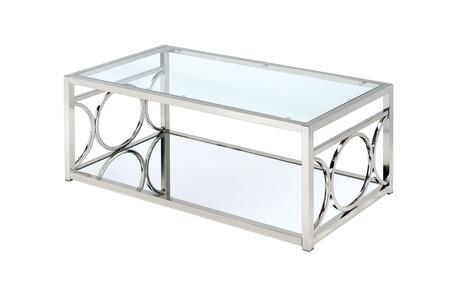 Click here for Rylee Collection CM4166CRM-C 47 Coffee Table with... prices