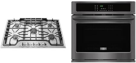 Gallery Series 2 Piece Kitchen Appliance Package wtih FGEW3065PD 30