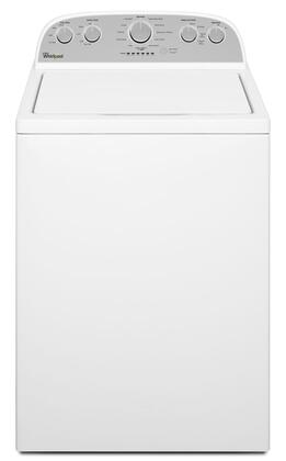 WTW5000DW 4.3 cu. ft. High Efficiency Top Load Washer with Low-Profile Impeller  Smooth Wave Stainless Steel Wash Basket and 11 Adaptive Wash Actions in 371371