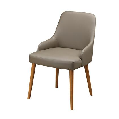 RTA-DCH40-BG Home Modern Dining Chair Two Piece