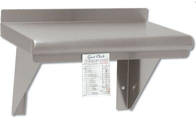 WS-12-48CM-X Wall Mounted Shelf with Check Minder  12