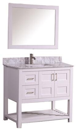 -2136W Norway 36 Single Sink Bathroom Vanity Set