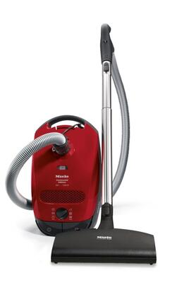41BCN031USA Classic C1 Titan Canister Vacuum with 1200 Watt Power Vortex Motor  Rotary Dial  AirClean System  Electric Powerbrush and 29.5 Ft. Operating Radius