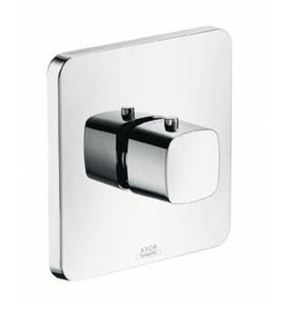 11731001 Axor Urquiola Thermostatic Valve Trim with Metal Knob Handle: