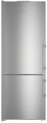 "CS1640BL 30"" Energy Star Rated Freestanding Left Hinge Bottom Freezer Refrigerator with IceMaker  15.9 cu. ft. Total Capacity  DuoCooling  and 3 Glass"