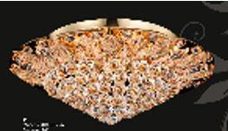 Corona Collection SP81091F-26G 26 inch  Wide Chandelier in Gold
