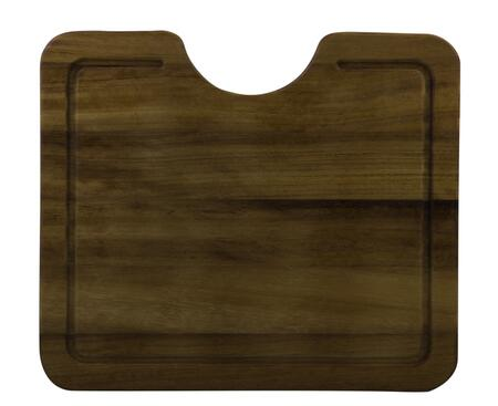 AB15WCB Wood Cutting Board with Wood  Grooved Channels for Catching Excess Juices and Sturdy Design in