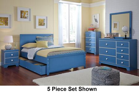 Bronilly Full Bedroom Set With Panel Storage Bed  Dresser And Mirror In