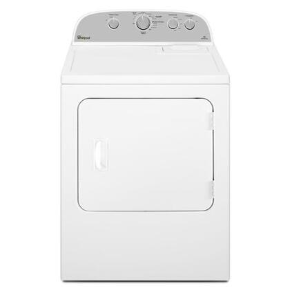 "WED4995EW 29"" Top Load Electric Dryer with 5.9 cu. ft. Capacity  12 Dryer Cycles  AccuDry Sensor Drying System  Wrinkle Shield Option  Jeans Cycle  Timed Dry"