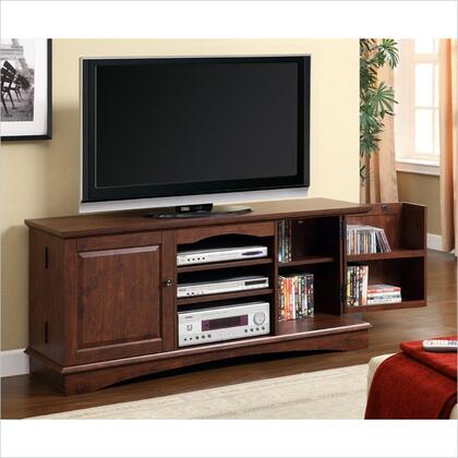 WQ60C73TB 60 Brown Wood TV Stand