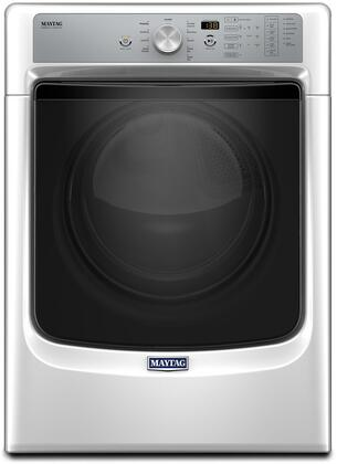 "MED8200FW 27"" Energy Star  ADA Compliant Electric Dryer with 7.4 cu. ft. Capacity  PowerDry System  Rapid Dry Cycle and Sanitize Cycle:"