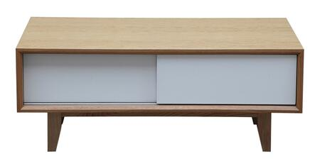 STO-CT-PORTER-NAT Porter Modern Coffee Table /Media Tv Cabinet  Natural Ash