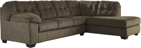 Accrington Collection 70508-66-17 2-Piece Sectional Sofa with Left Arm Facing Sofa and Right Arm Facing Corner Chaise in