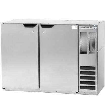 BB48Y-1-S-27 48 inch  Back Bar Refrigerator with 2 Solid Doors and Stainless Steel Top -