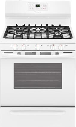 Frigidaire 5.0 Cu. Ft. Self-Cleaning Freestanding Gas Range White FFGF3054TW