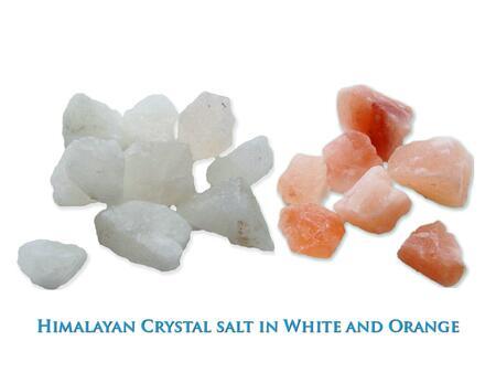HZ09SALT Himilayan Crystal Salt in White and
