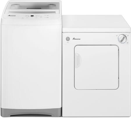 White Top Load Compact Laundry Pair with NTC3500FW 21