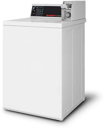 """SWNSX2SP115TW02 26"""""""" Commercial Top Load Washer with 3.19 cu. ft. Capacity  710 RPM Spin Speed  Stainless Steel Tub  and Coin Slide Controls  in"""" 951790"""