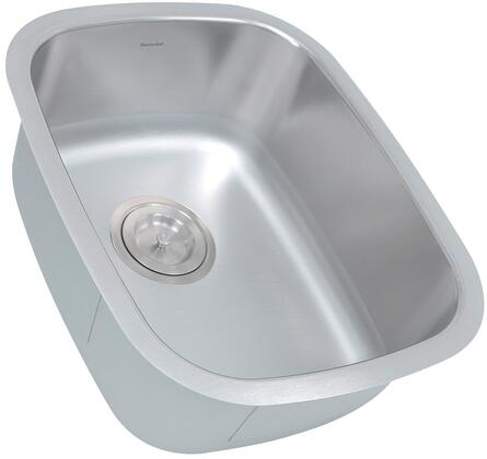 Quidnet Collection NS20 Rectangle Undermount Stainless Steel Bar/Prep Sink with 18 Gauge 304 Stainless Steel