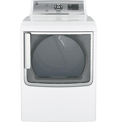 "GTD81ESSJWS 28"" Electric Dryer with 7.8 cu. ft. Capacity  5 Heat Selections  11 Cycles  HE Sensor Dry  My Cycle Settings  Speed Dry and 4 Dryness Levels in"