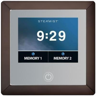 450-ORB Total Sense Steambath Residential Control  in Oil Rubbed