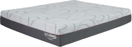 Palisades M89841 King Mattress with Moisture Resistant Fabric  Allergen  Dust Mite and Bed Bug Bite Proof Barrier in Light