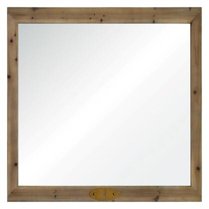 MT1614 36x36 Anita Mirror with Wood Frame in
