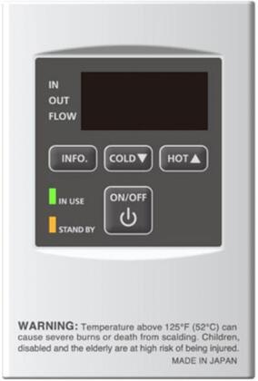 TM-RE40 Temperature Remote Controller for Takagi Water