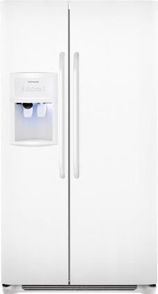 Frigidaire 22.1 Cu. Ft. Side by Side Refrigerator-White-FFHS2322MW Appliance Fin