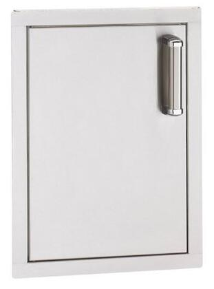 53920-SR Flush-Mounted Series Single Access Door with Right Door Hinge: Stainless