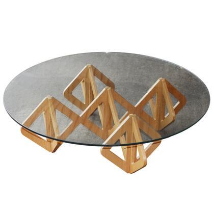 FMI10219-mid walnut Napoleon Coffee Table  Mid