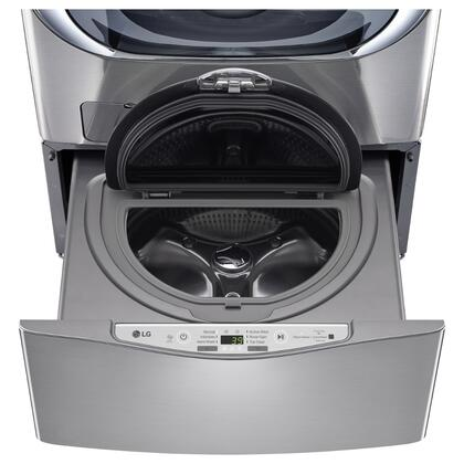 "WD100CV 27"""" SideKick Pedestal Washer for Front Load Washer with 1.0 cu. ft. Right Size Capacity  Specialty Cycles  and Direct Drive Motor: Graphite"" 653115"