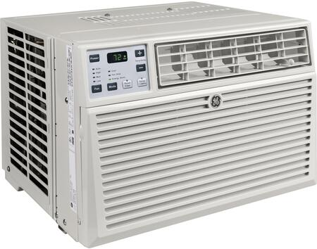 AEM10AX 22 inch  Window Air Conditioner with 10000 Cooling BTU  Energy Star Qualified  EZ Mount  Fixed Chassis  3 Fan Speed  Electronic Digital Thermostat  in Light