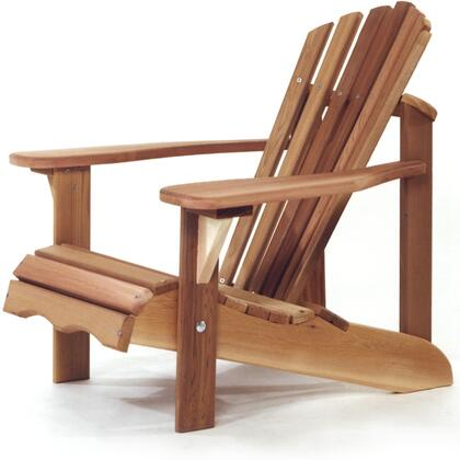 "CA14 24"" Child Adirondack Chair with Wide Arm Paddles  Western Red Cedar Construction and Sanded"