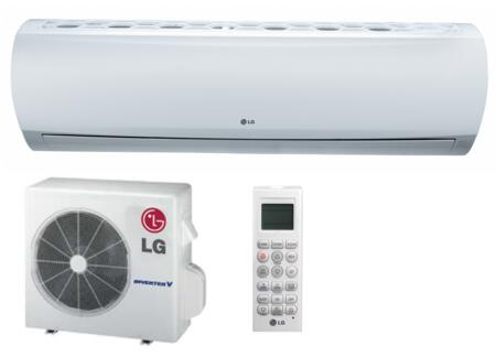 LS360HLV Single Zone Wall-Mount Ductless Mini Split System with 33000 BTU Cooling Capacity  35 200 BTU Heat Pump  8.2 EER  R-410A Refrigerant and Extended Pipe