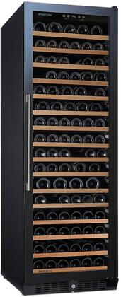 237 02 69 03 24 inch  N'Finity Pro L Wine Cooler with 166 Bottle Capacity  Cool Blue LED Lighting  Digital Climate Control  Charcoal Filter  in Stainless