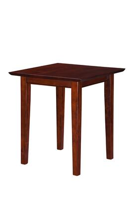 AH14104 Shaker End Table With Tapered Legs and Apron in Antique