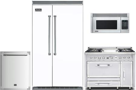 5 Piece Kitchen Appliance Package with 48