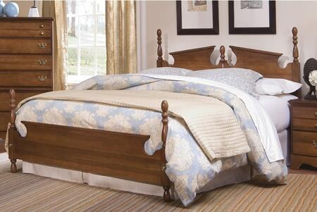 Common Sense 187860-983000-79091 70 inch  King Sized Bed with Metal Frame and Panel Headboard in Traditional