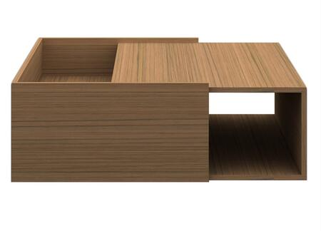 CP1107I-K02-MP Timber End Table with Mango Wood Top and Storage Shelves in Light Birch