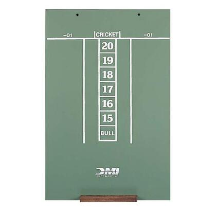 SCORC 23.5 inch  x 15.5 inch  Chalk Scoreboard Screened for Easy Scoring of Cricket and